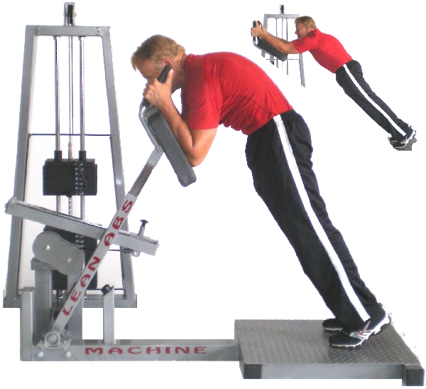 Commercial Lean Abs Machine - Gym Use - Heavy Duty