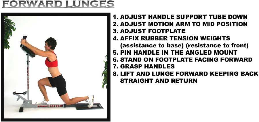 leg extension machine instructions