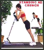 standing ab crunch machine