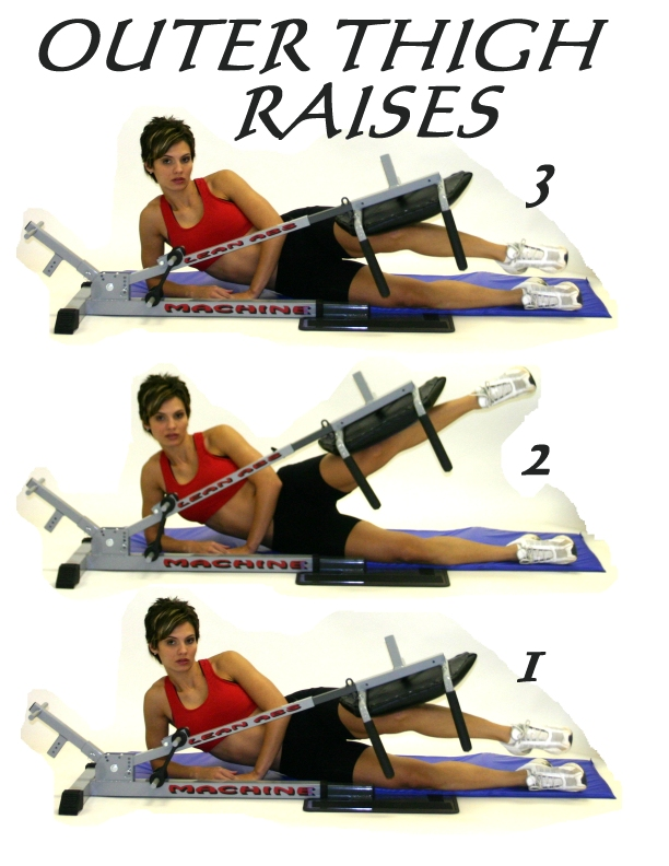 outer thigh workout machine